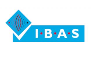 biały napis IBAS na niebieskim tle i podpis poniżej Independent Betting Adjudication Service